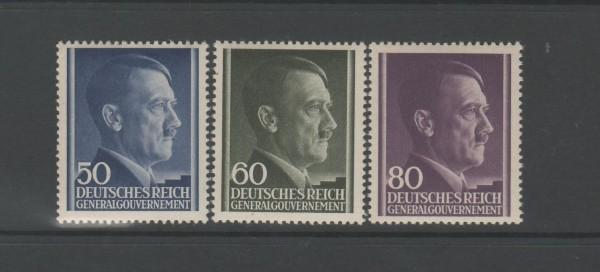 Generalgouvernement Mi-Nr. 110-112 ** postfrisch