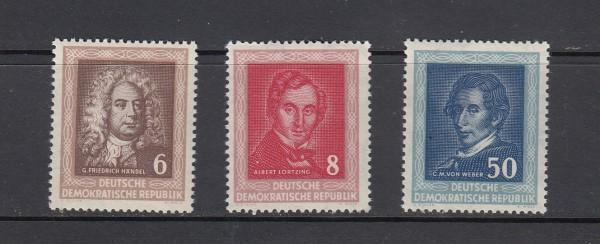 DDR Mi-Nr. 308-310 ** postfrisch