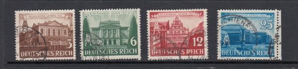 Deutsches Reich Mi-Nr. 764-767 gestempelt