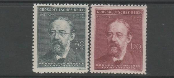 Böhmen und Mähren Mi-Nr. 138-139 ** postfrisch