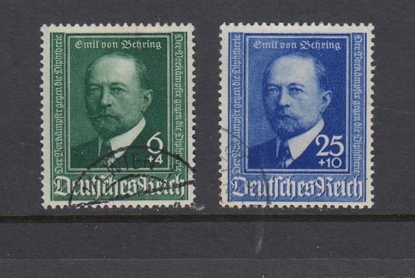 Deutsches Reich Mi-Nr. 760-761 gestempelt