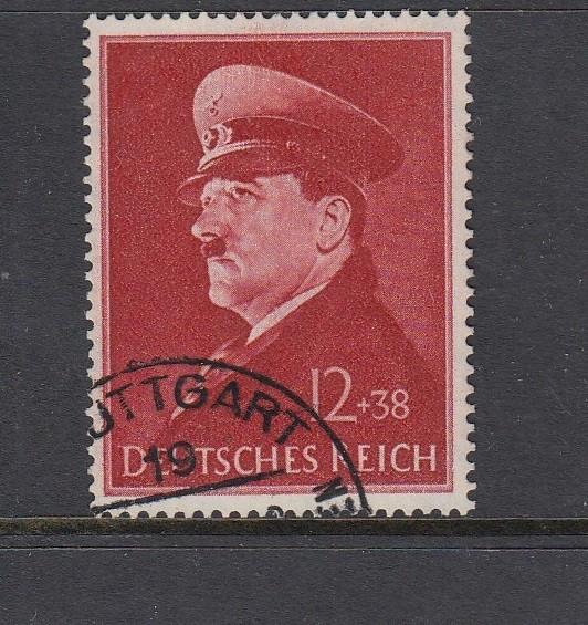 Deutsches Reich Mi-Nr. 772x gestempelt - senkrechte Gummiriffelung