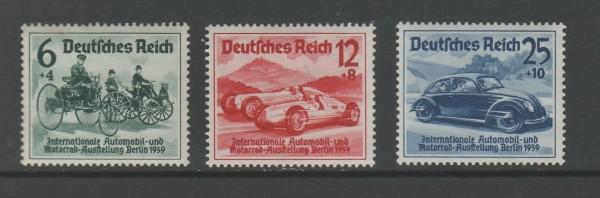 Deutsches Reich Mi-Nr. 686-688 ** postfrisch