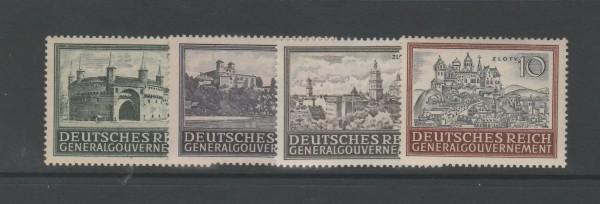 Generalgouvernement Mi-Nr. 113-116 ** postfrisch