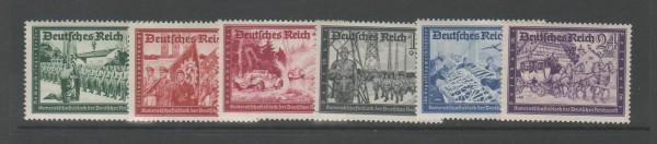 Deutsches Reich Mi-Nr. 773-778 ** postfrisch
