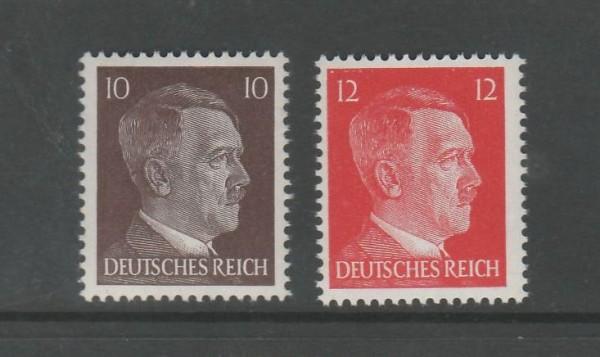 Deutsches Reich Mi-Nr. 826-827 ** postfrisch
