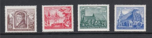 DDR Mi-Nr. 358-361 ** postfrisch
