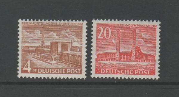 Berlin Mi-Nr. 112-113 ** postfrisch