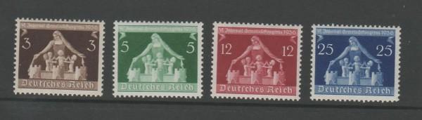 Deutsches Reich Mi-Nr. 617-620 ** postfrisch