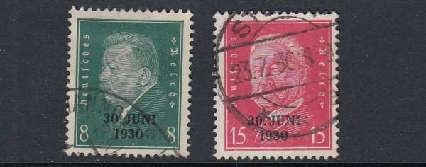 Deutsches Reich Mi-Nr. 444-445 gestempelt