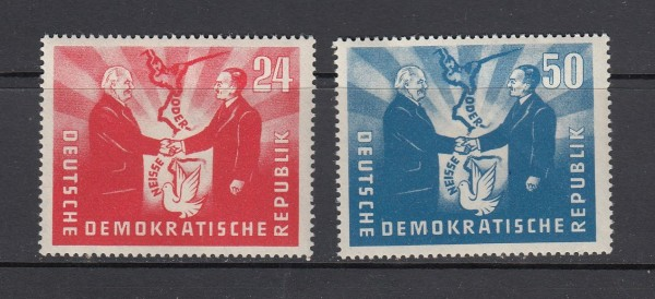 DDR Mi-Nr. 284-285 ** postfrisch