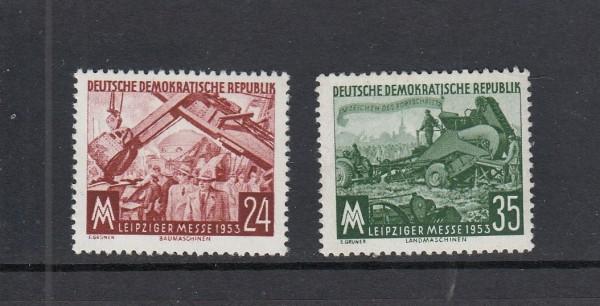 DDR Mi-Nr. 380-381 ** postfrisch