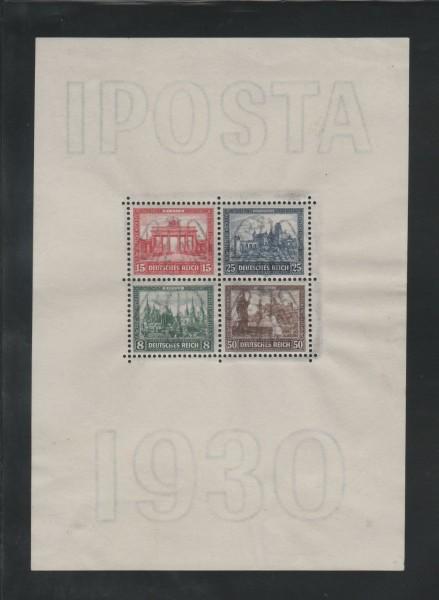 Deutsches Reich Mi-Nr. Block 1 IPOSTA ** postfrisch