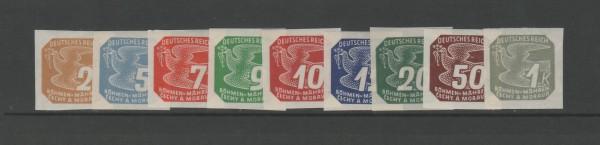 Böhmen und Mähren Mi-Nr. 117-125 ** postfrisch
