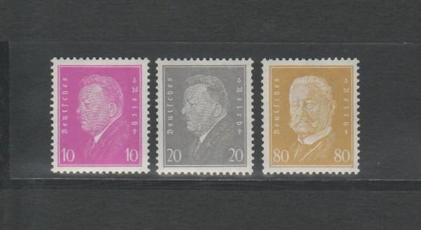 Deutsches Reich Mi-Nr. 435-437 ** postfrisch
