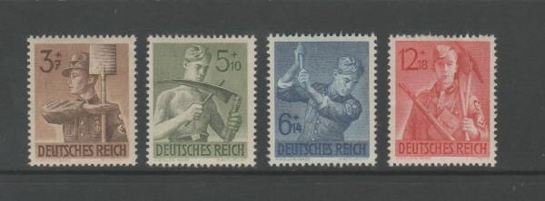 Deutsches Reich Mi-Nr. 850-853 ** postfrisch