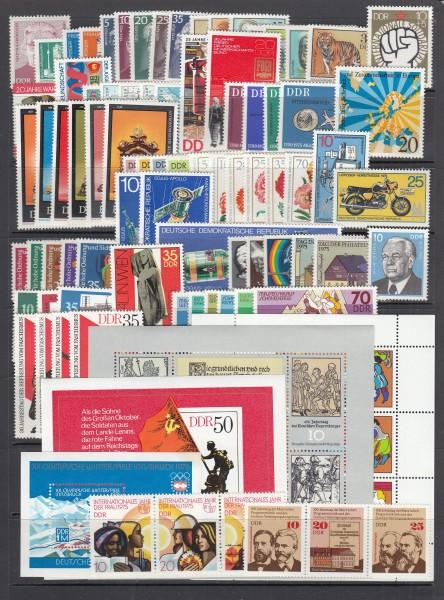 DDR Jahrgang 1975 ** postfrisch - komplett