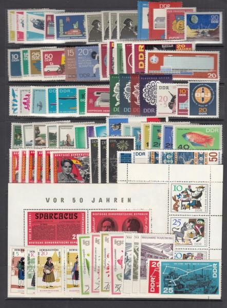 DDR Jahrgang 1966 ** postfrisch - komplett