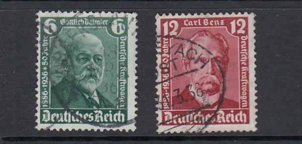 Deutsches Reich Mi-Nr. 604-605 gestempelt