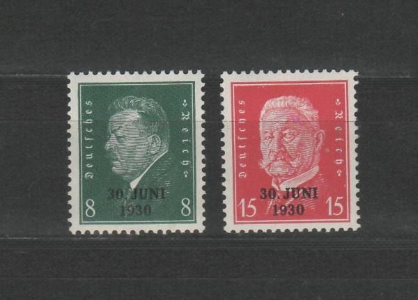 Deutsches Reich Mi-Nr. 444-445 ** postfrisch