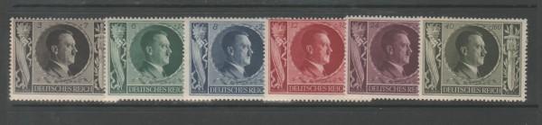 Deutsches Rech Mi-Nr. 844-849 ** postfrisch