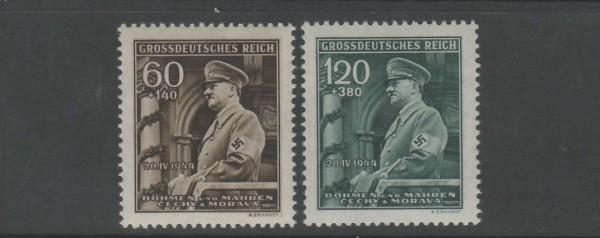 Böhmen und Mähren Mi-Nr. 136-137 ** postfrisch
