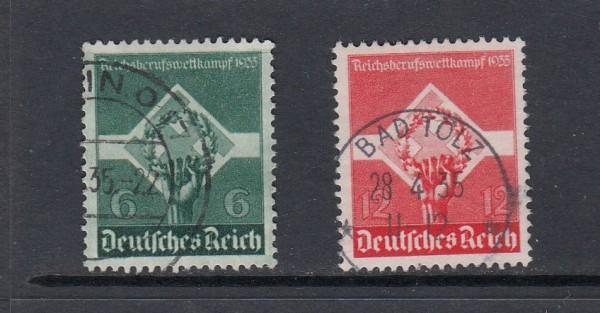 Deutsches Reich Mi-Nr. 571-572x gestempelt