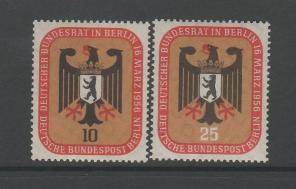 Berlin Mi-Nr. 136-137 ** postfrisch