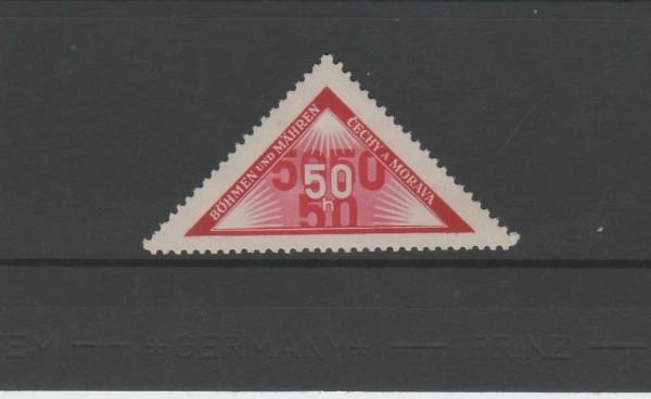 Böhmen und Mähren Portomarke Mi-Nr. 15 ** postfrisch