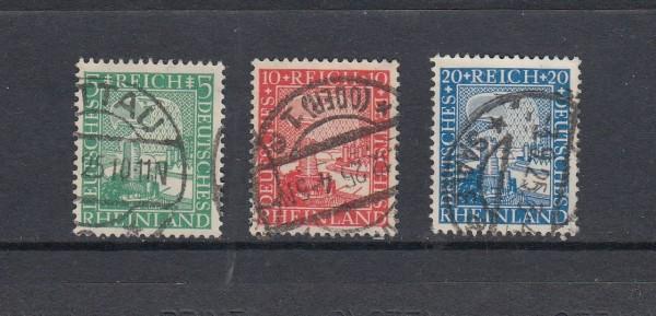 Deutsches Reich Mi-Nr. 372-374 gestempelt