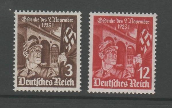Deutsches Reich Mi-Nr. 598-599 ** postfrisch